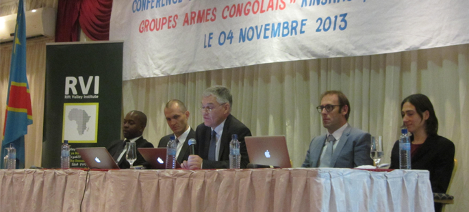 Usalama Workshop in the DRC