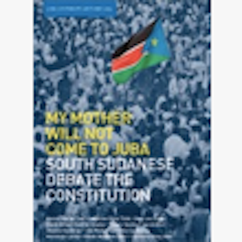 My Mother Will Not Come to Juba Report Launch