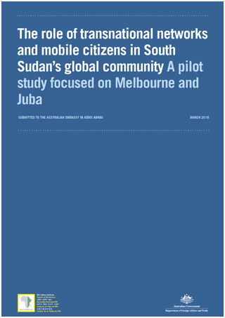 The role of transnational networks and mobile citizens in South Sudan's global community