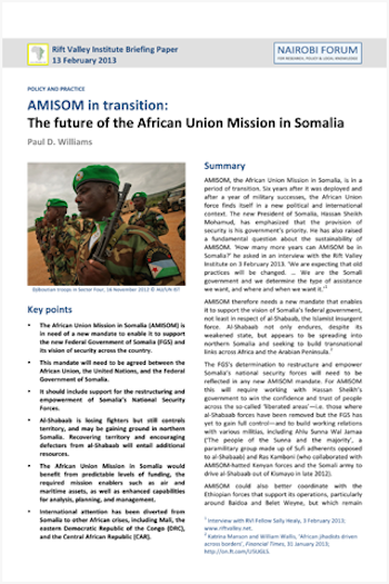 AMISOM in Transition