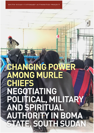 Changing Power Among Murle Chiefs