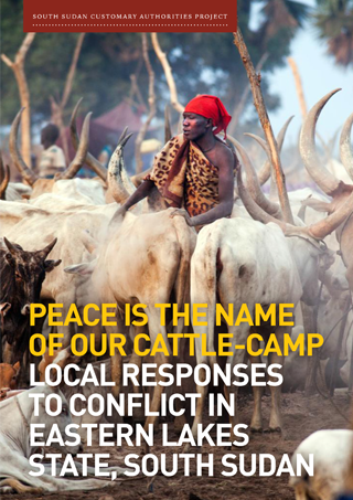 Peace is the Name of Our Cattle-Camp