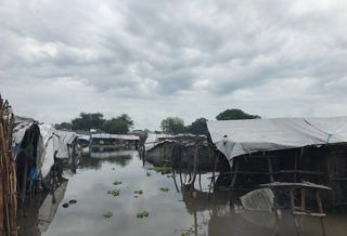 The floods in Pibor town, October 2017.